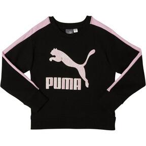 Girl's Fleece Crew Pullover PS