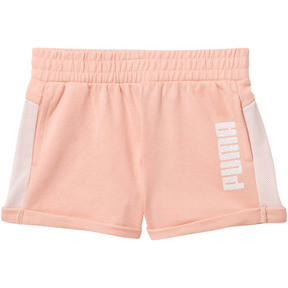 Thumbnail 1 of Mesh Fashion Toddler Shorts, PEACH BUD, medium