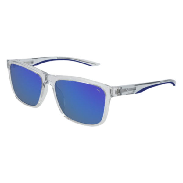 PUMA Color Strip Sunglasses, CRYSTAL, large