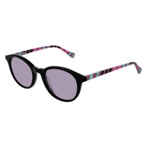 Thumbnail 1 of PUMA Kids Round Sunglasses, BLACK, medium