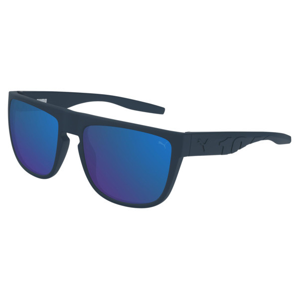 Men's Sunglasses, BLUE-BLUE-RED, large