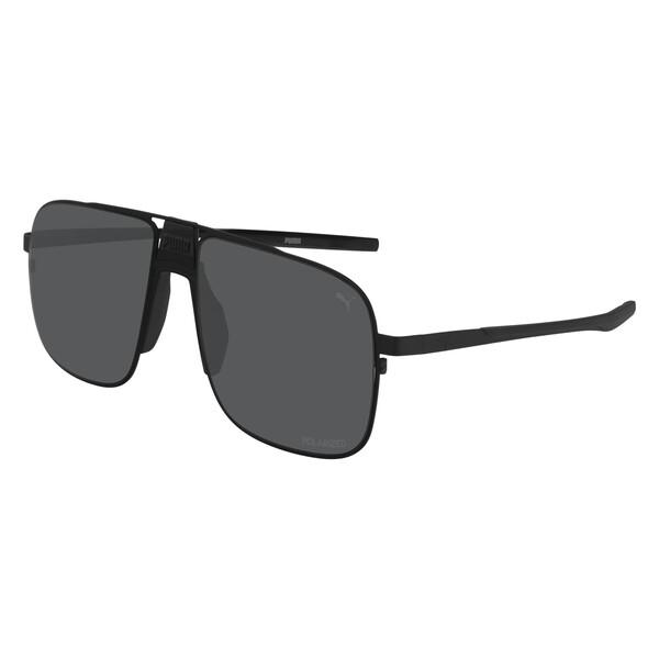 Lookout Pier Square Sunglasses, RUTHENIUM-RUTHENIUM-SILVER, large