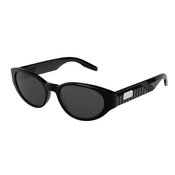ウィメンズ PU0228S サングラス, BLACK-BLACK-SMOKE, large-JPN