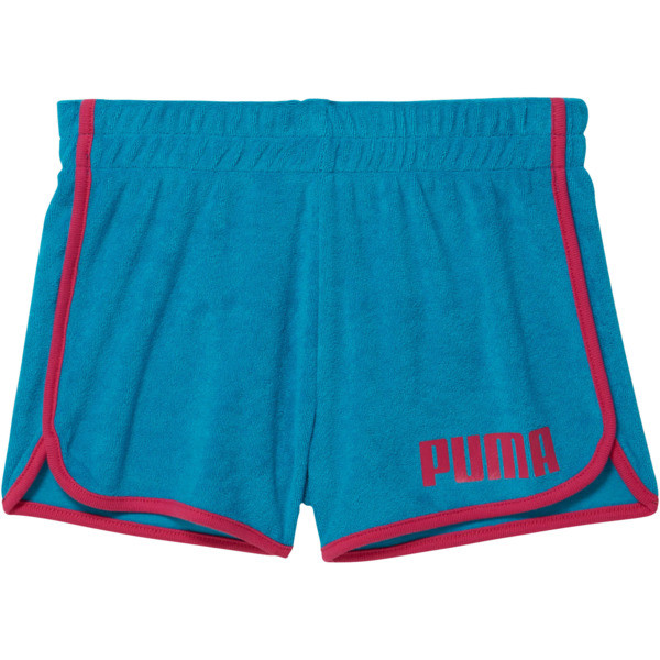 Girls' Fashion Shorts JR, CARRIBEAN SEA, large