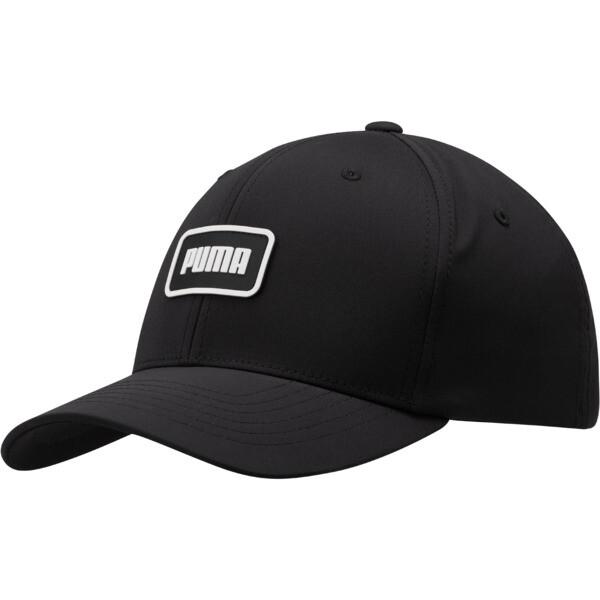 Clutch Flexfit Cap, BLACK/WHITE, large