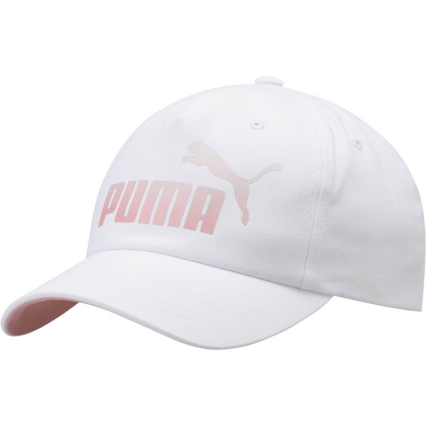 Ombre Women's Dad Cap, WHITE/PINK, large