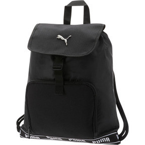 Thumbnail 1 of Marnie Cinch Backpack, Black/Silver, medium