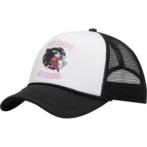 Thumbnail 1 of PUMA HOOPS MR KREAM TRUCKER, WHITE / BLACK, medium