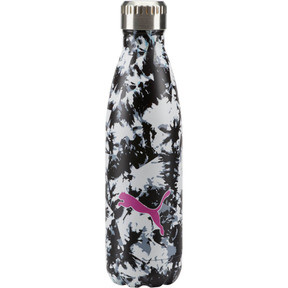 Thumbnail 1 of PUMA Chroma Vacuum Stainless Steel 17 oz. Water Bottle, Black White Camo, medium
