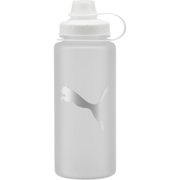 PUMA Little Shot Frosted 24 oz. Water Bottle, Frosted Silver, large