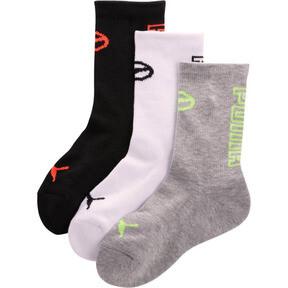 Boys' 1/2 Terry Crew Socks [3 Pack]