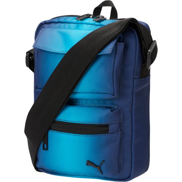 PUMA Gradient Portable Shoulder Bag, Navy Combo, large