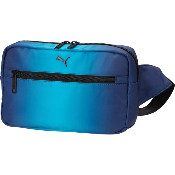 PUMA Gradient Waist/ Sling Pack, Navy Combo, large