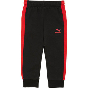 Thumbnail 1 of Toddler T7 Track Pants, PUMA BLACK, medium