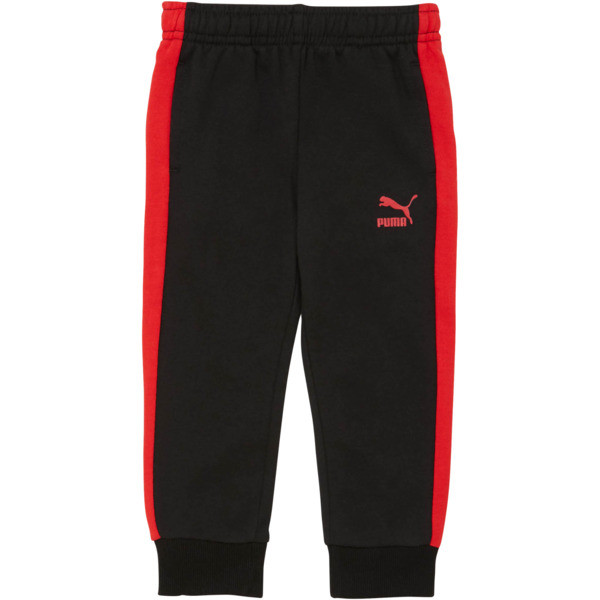 Toddler T7 Track Pants, PUMA BLACK, large