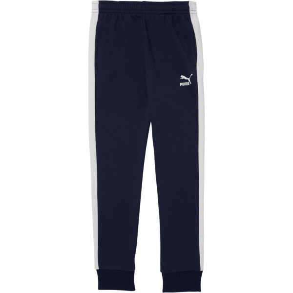 Boys' T7 Track Pants JR, PEACOAT, large