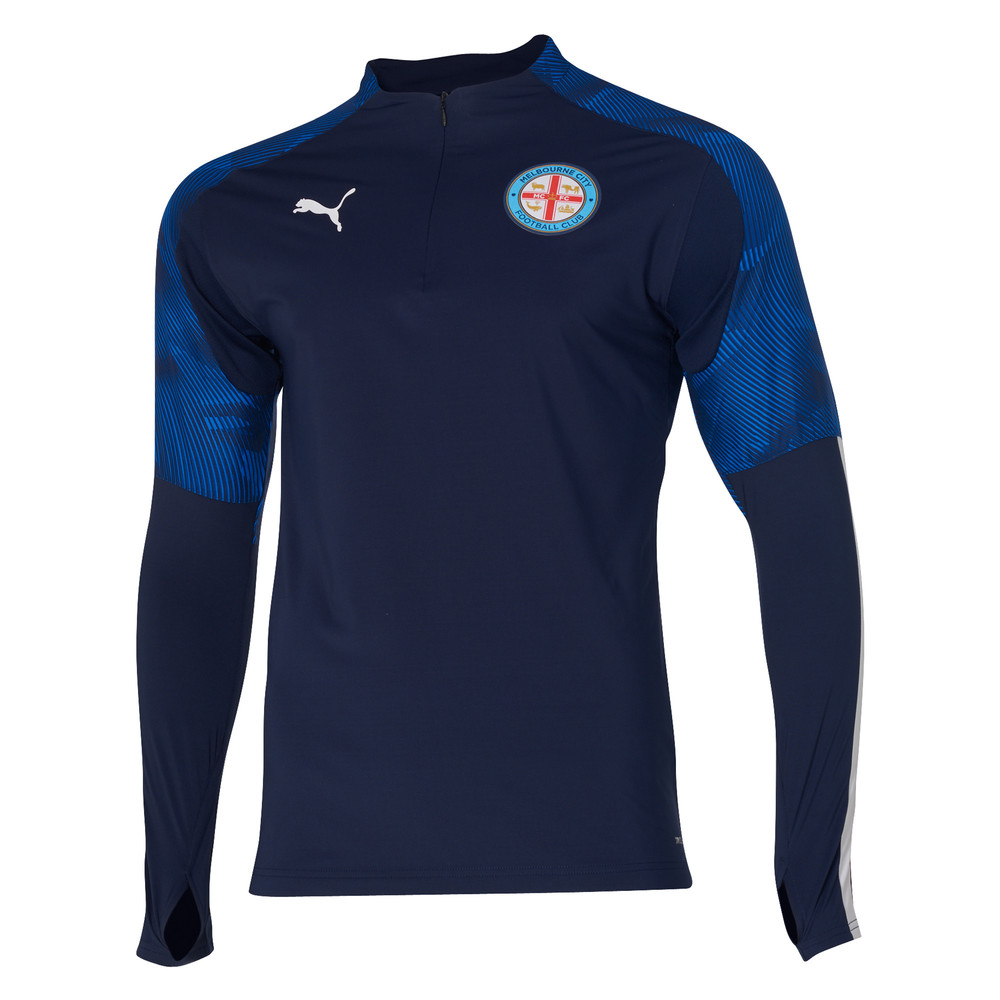 Image Puma Melbourne City FC 1/4 Zip Top #1