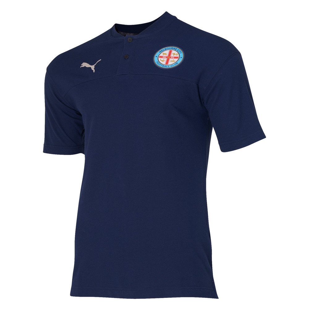 Image PUMA Melbourne City FC Mens Polo Shirt #1