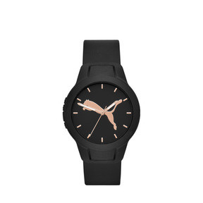 Thumbnail 1 of Reset Polyurethane V2 Women's Watch, Black/Black, medium