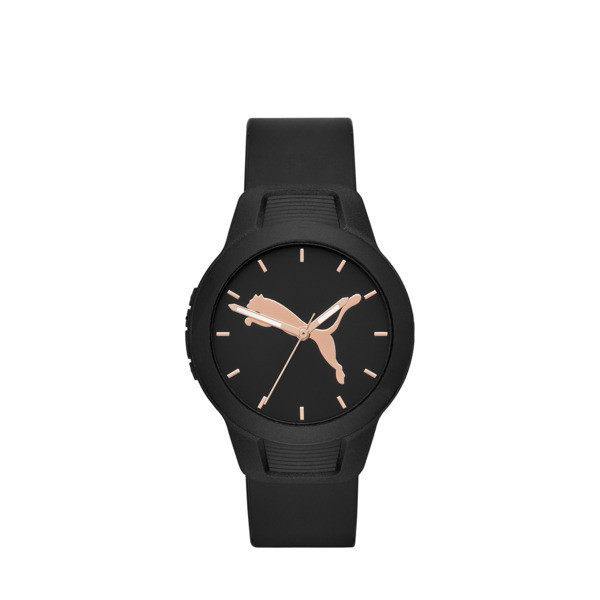 Reset Polyurethane V2 Women's Watch, Black/Black, large