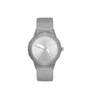 Thumbnail 1 of Reset Polyurethane V2 Women's Watch, Silver/Silver, medium