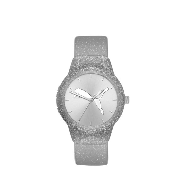 Reset Polyurethane V2 Women's Watch, Silver/Silver, large