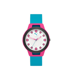 Thumbnail 1 of Reset Silicone V1 Women's Watch, Pink/Blue, medium