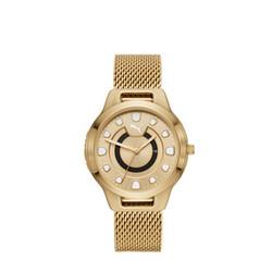 <プーマ公式通販> プーマ ウィメンズ リセット ステンレス スチール V1 時計 ウィメンズ Gold/Gold