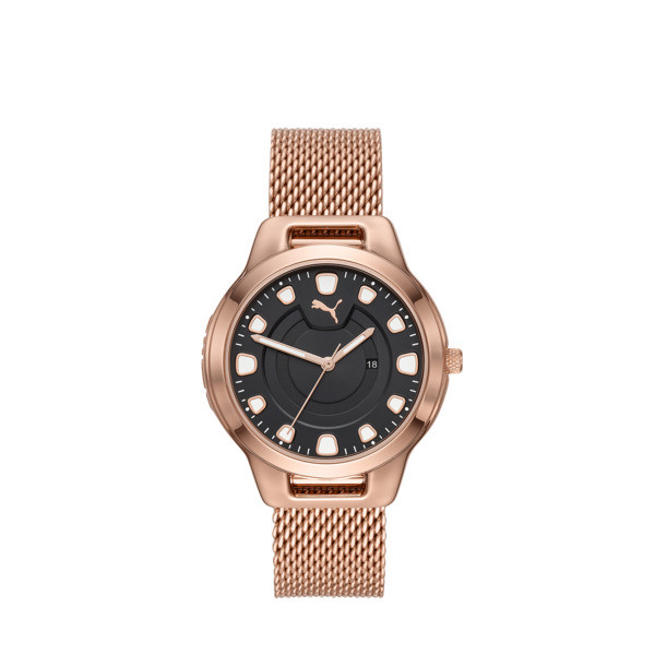 Reset Stainless Steel V1 Women's Watch, Rose Gold/Rose Gold, large