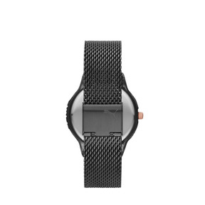 Thumbnail 2 of Montre Reset Stainless Steel V1 pour femme, Black/Black, medium