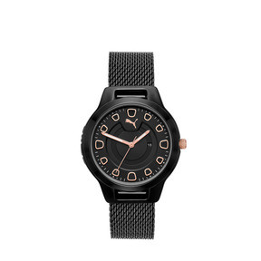 Thumbnail 1 of Montre Reset Stainless Steel V1 pour femme, Black/Black, medium