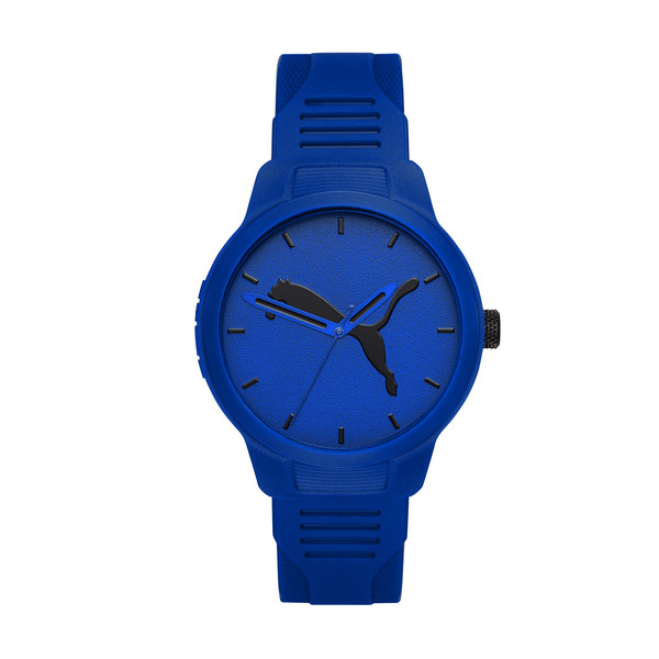Montre Reset Polyurethane V2 pour homme, Blue/Blue, large