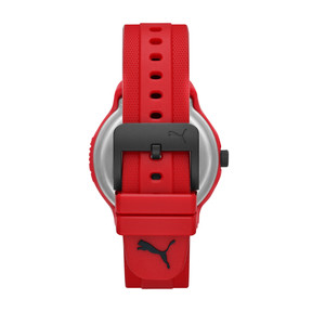 Thumbnail 2 of Montre Reset Polyurethane V2 pour homme, Red/Red, medium