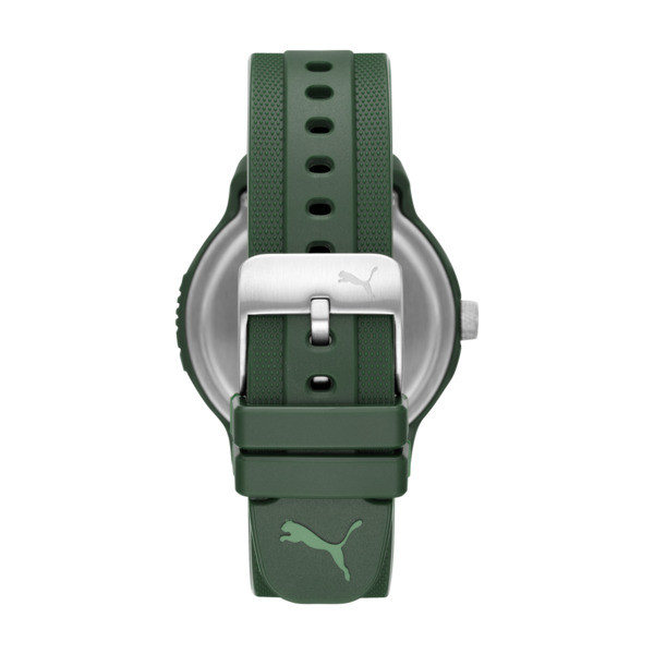 Reset Polyurethane V2 Men's Watch, Green/Green, large
