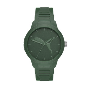 Thumbnail 1 of Reset Polyurethane V2 Men's Watch, Green/Green, medium