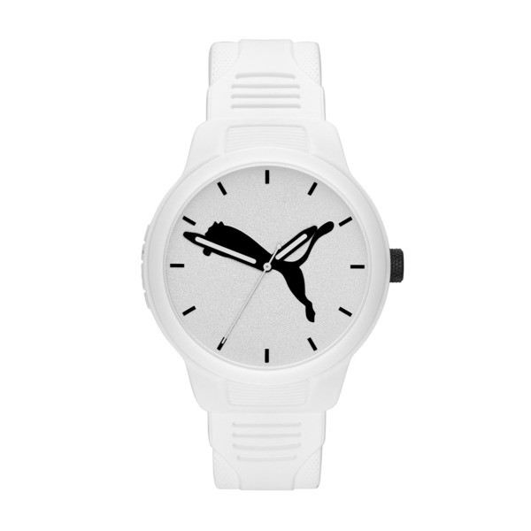 Reset Polyurethane V2 Men's Watch, White/White, large