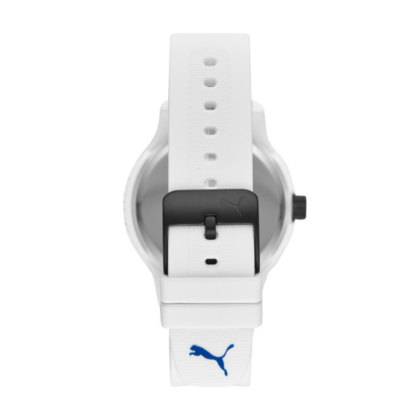 Reset Silicone V1 Men's Watch, White/White, large