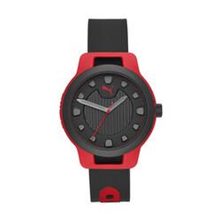 <プーマ公式通販> プーマ メンズ リセット シリコン V1 時計 メンズ Red/Black
