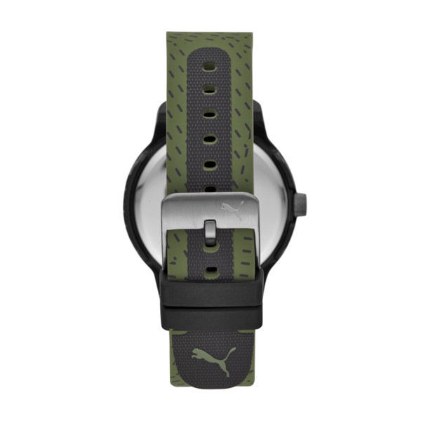 Reset v1 Watch, Black/Green, large