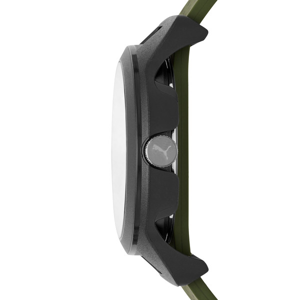 Reset v1 Watch, Black/Green, large
