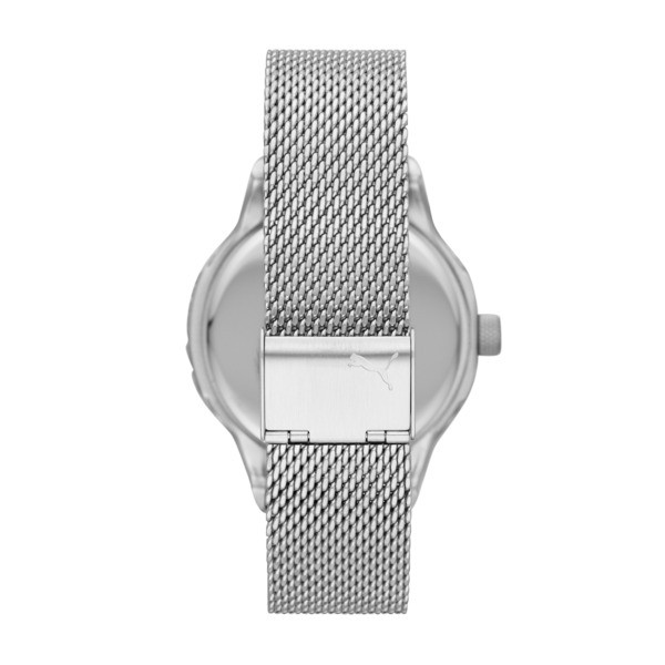 Reset Stainless Steel V1 Men's Watch, Silver/Silver, large