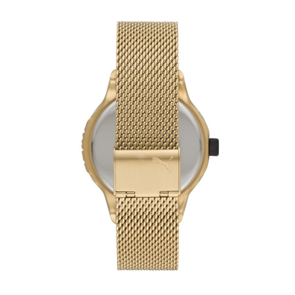 Reset Stainless Steel V1 Men's Watch, Gold/Gold, large