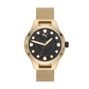Thumbnail 1 of Reset v1 Watch, Gold/Gold, medium