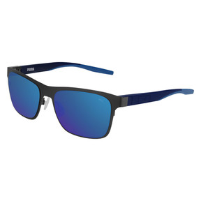 Thumbnail 1 of Strand Rectangle Sunglasses, RUTHENIUM, medium