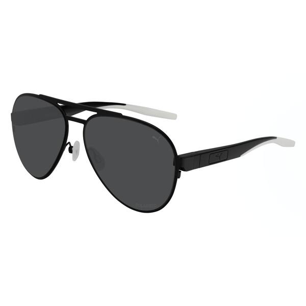 Gafas de sol Vista con diseño aviador, NEGRO, grande