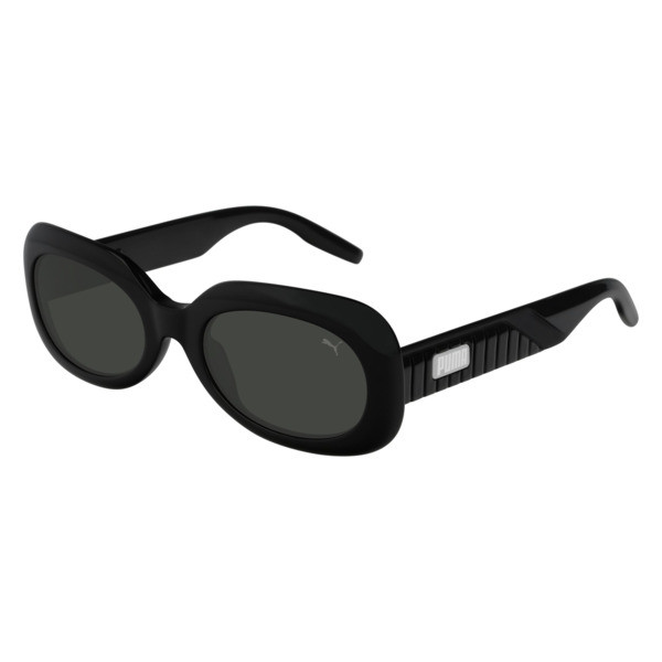 Ruby Oval Sunglasses, BLACK, large