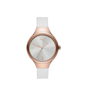 Thumbnail 1 of Contour White Watch, Rose gold/White, medium