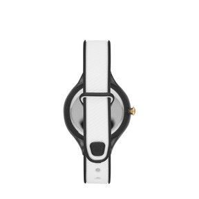 Thumbnail 2 of Contour Black and White Watch, Black/White, medium