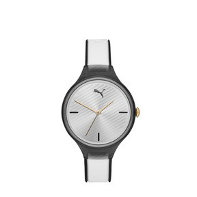 Contour Black and White Watch