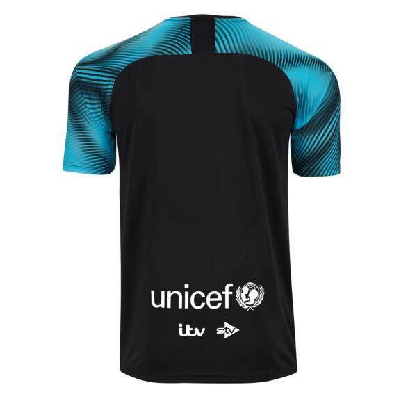 Soccer Aid World XI 2019 Kid's Jersey, Zwart en cyaan, large